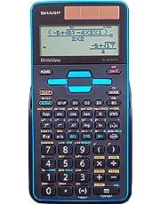 Sharp EL-W535TGBBL Scientific Calculator with WriteView 4 Line Display, Black, Blue