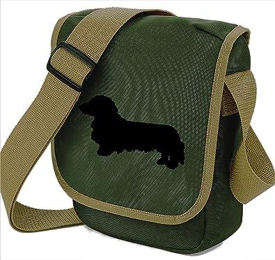 dachshund long haired long haired dachshund bag mini reporter bag