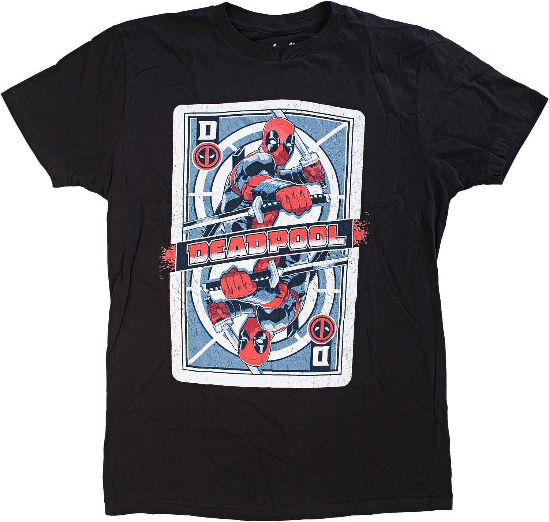 Deadpool Cards Deadpool T-Shirt