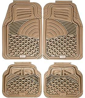 Trunk Liner Beige All-Weather Rubber Floor Mats Johns FML-21