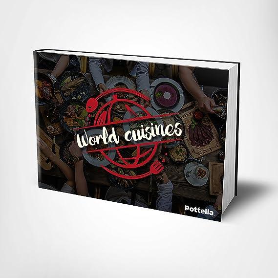 Amazon.com: Pottella juego de 5 piezas de cacerola de cobre ...