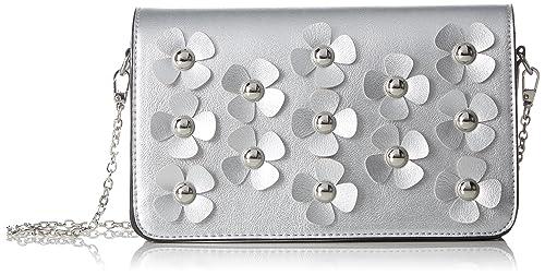 4102034, Womens Cross-Body Bag, Silver Buffalo