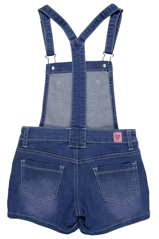 Fashion2Love Girls/' 5 Pockets Denim Jeans Jumpsuit Overalls Shorts