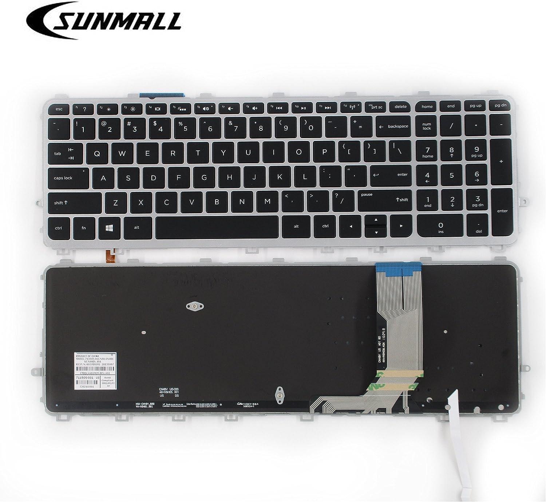 SUNMALL Laptop Keyboard Replacement Compatible with HP Envy 15-J 17-J 15-j000 15-j100 15t-J000 15t-j100 15z-j000 17-j000 17t-j000,HP TouchSmart 15-J 15T-J 17-J 17T-J 15-J000 17-J000 US Layout