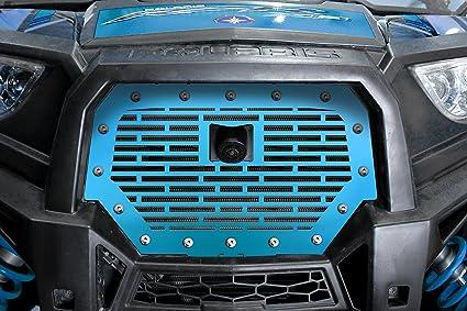 Rejilla de acero inoxidable total de sustitución para 2017 + RZR 1000 XP Ride Command fabricado