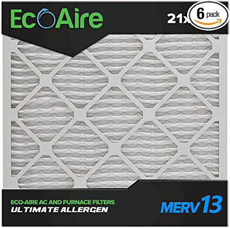 Nordic Pure 17/_1//4x29/_1//4x1 Exact MERV 12 Pleated AC Furnace Air Filters 1 Pack