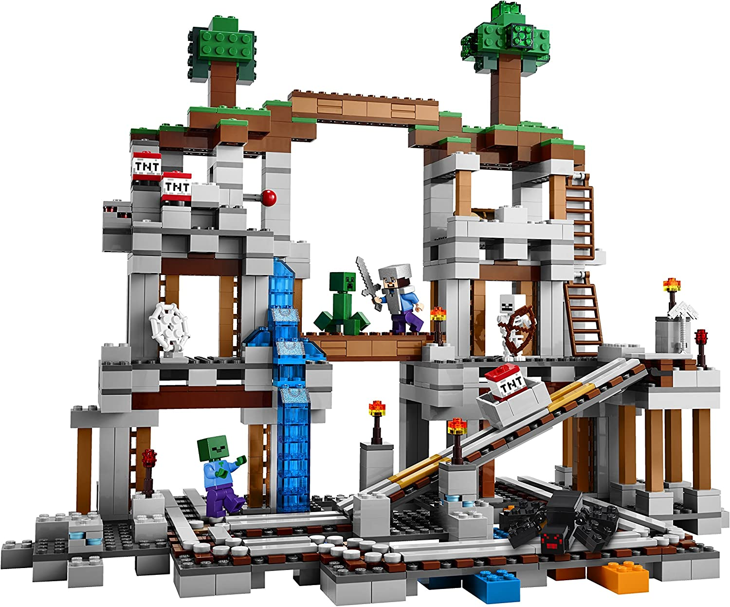 LEGO Minecraft 21118 The Mine (Discontinued by manufacturer)