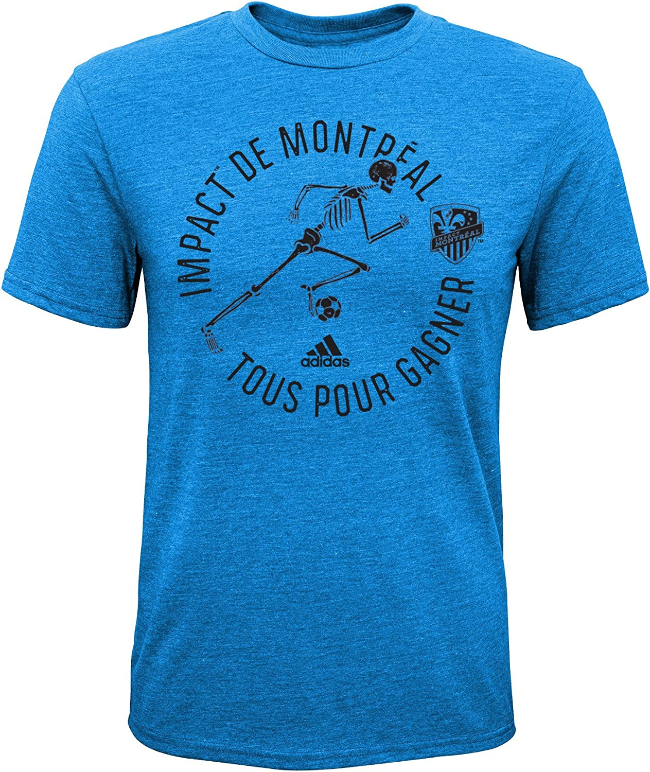 Outerstuff MLS Kids and Youth Boys to The Grave Short Sleeve Triblend Tee