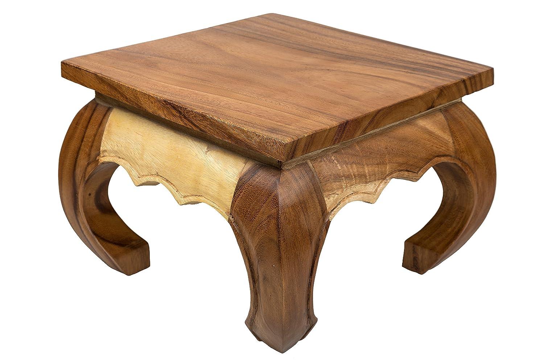 Mesa de café opium xcm de madera maciza Albizia lebbeck
