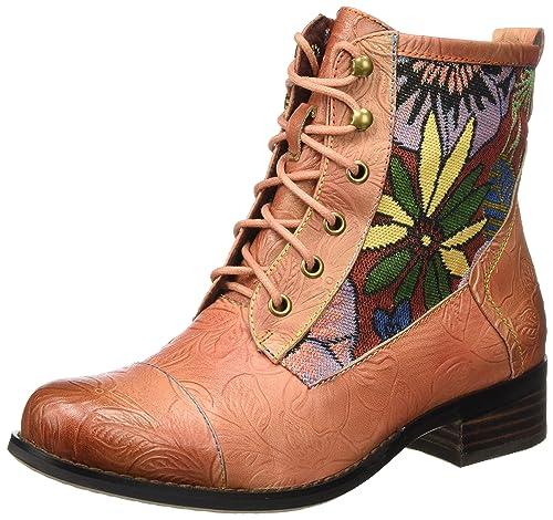 Zapatos grises estilo militar Laura Vita para mujer Outlet Fake Envío gratuito Explore wrK8wn