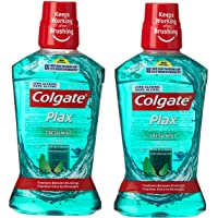 Colgate Plax Fresh Mint Mouthwash, 500 ml (Pack of 2)