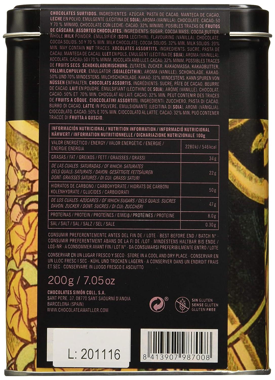 Chocolate Amatller Chocolates Surtidos - 6 Unidades: Amazon.es: Alimentación y bebidas