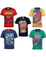 Eteenz Boy's Cotton T-Shirt(Pack Of 5)
