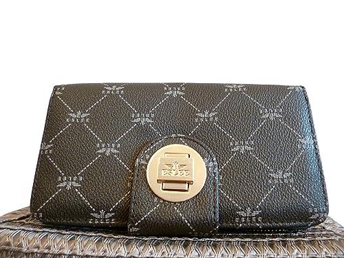 9cf16cbb9c Eslee , Portafogli Donna grigio Grau: Amazon.it: Scarpe e borse