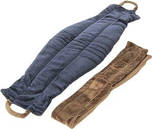 Spa Comforts Back Belt Blue and Brown