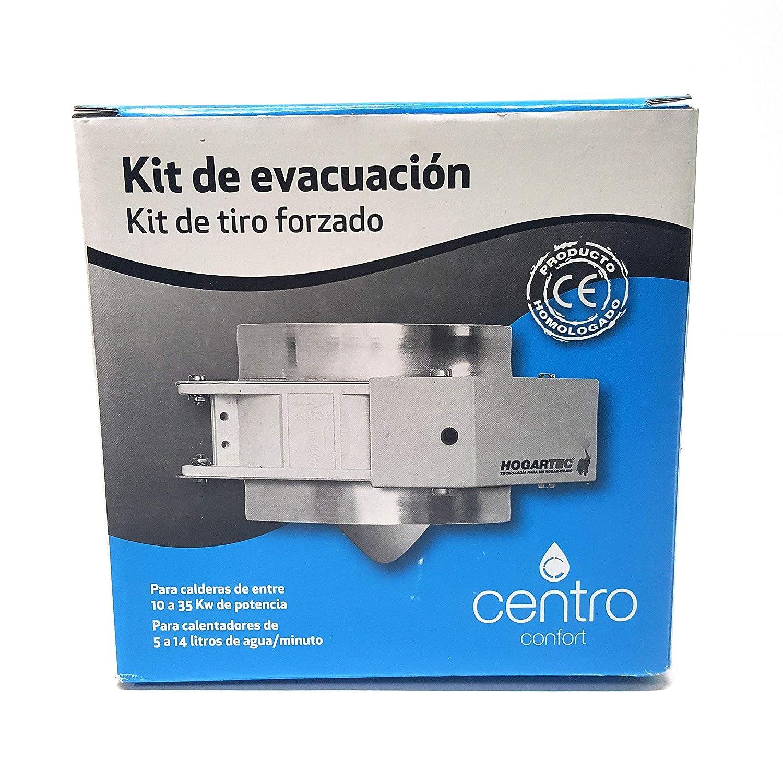 Kit evacuacion tiro forzado calentador Standard 110MM