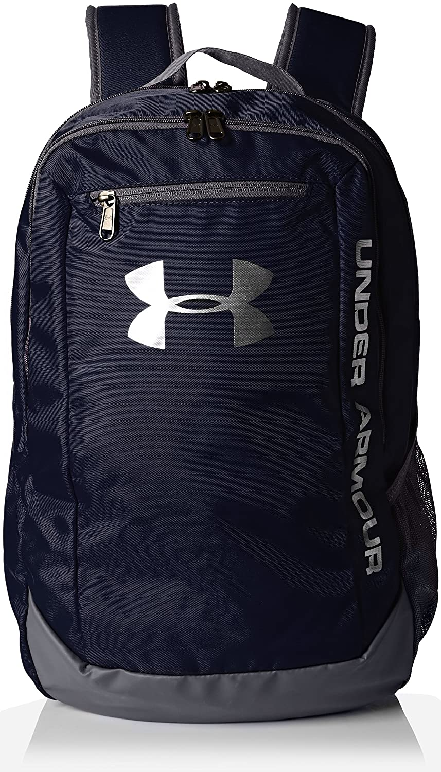 6e804d422c9 Amazon.com: Under Armour Hustle LDWR Backpack One Size Black Black Silver:  Arts, Crafts & Sewing