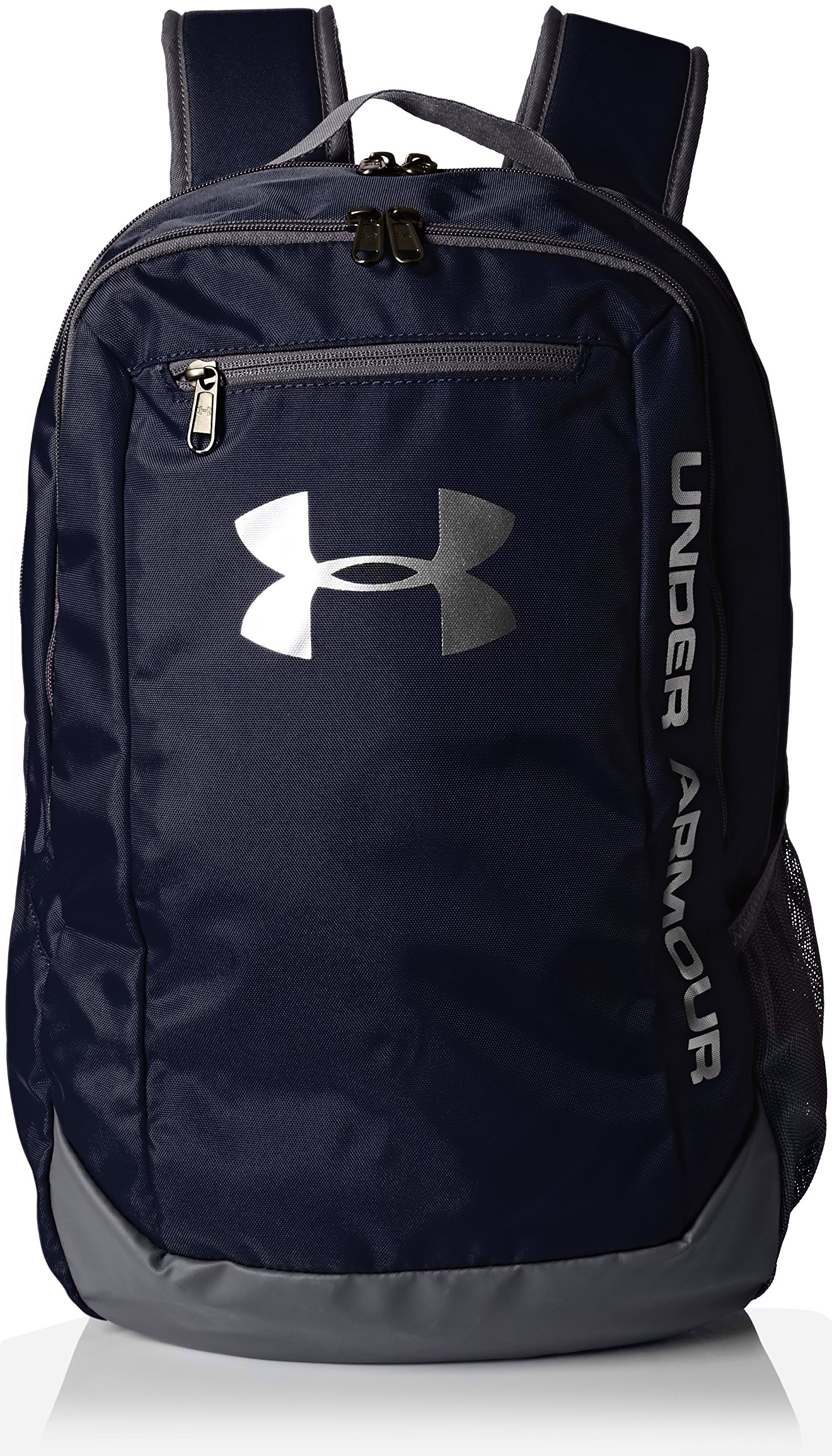 Under Armour Men's Hustle LD Water Resistant Backpack Laptop, Midnight Navy (410), One Size by Under Armour