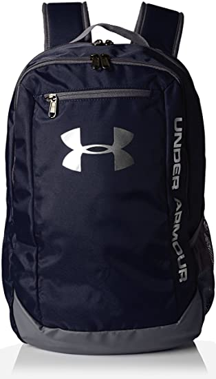 63f776eff Under Armour UA Hustle Backpack Ldwr Mochila, Hombre, Azul (Midnight  Navy/Graphite/Silver 410), Talla única: Amazon.es: Deportes y aire libre
