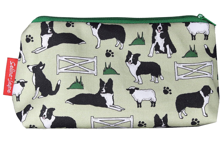 Selina-Jayne Border Collie chiens Limited Edition concepteur sac cosmétique Selina-Jayne Designs