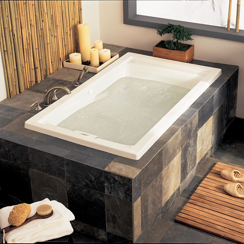 American Standard 2422V002011 Evolution Deep Soak Bathing Pool, 5 Feet By