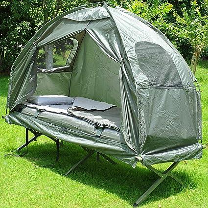Amazon.com: WealthyPlaza - Cuna de acampada, plegable ...