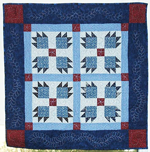 Amazon Bear Paw Wall Hanging Quilt 4 Block Bear Paw Quilt