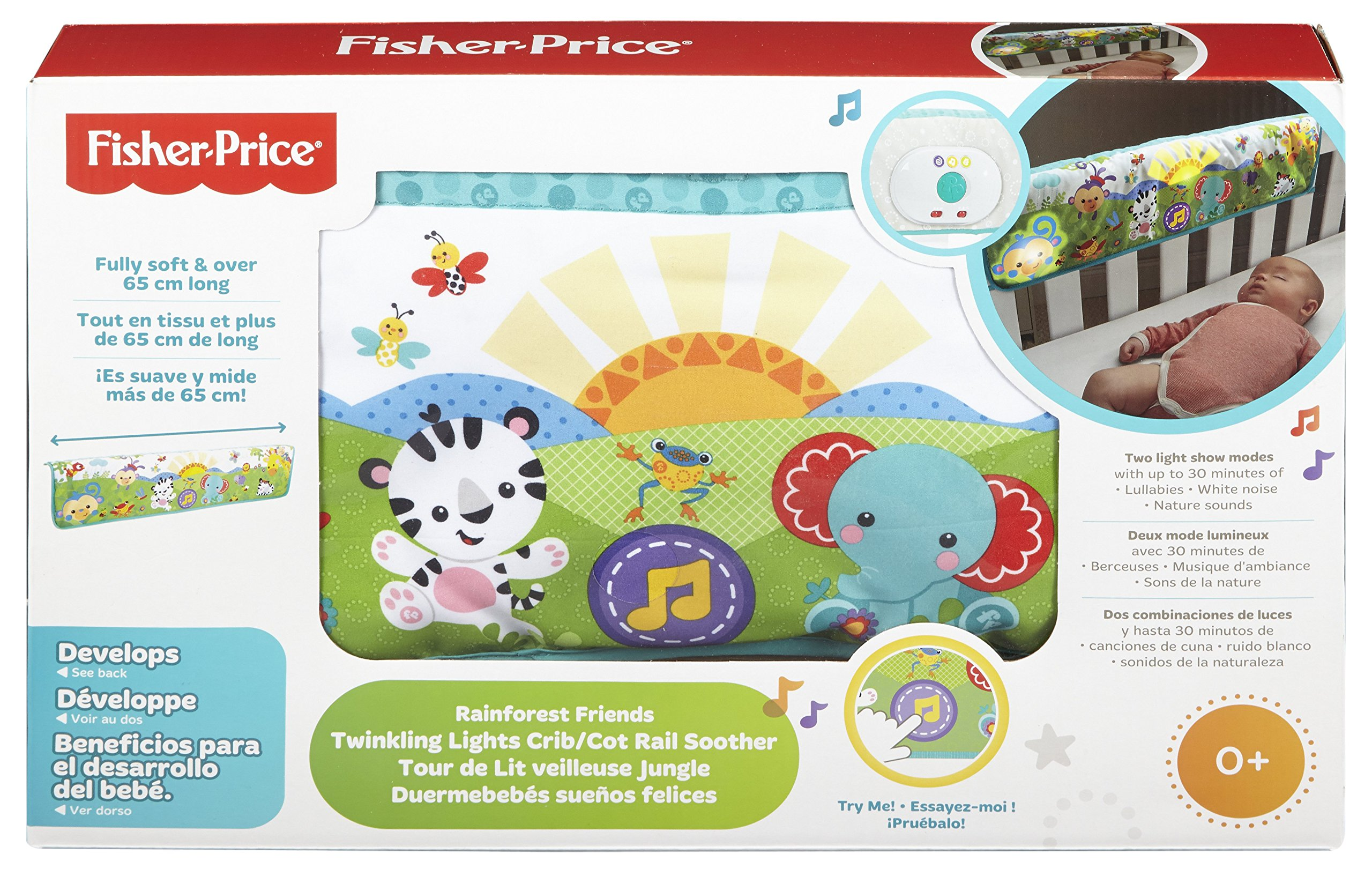 Fisher-Price Twinkling Lights Crib Rail Soother by Fisher-Price (Image #6)