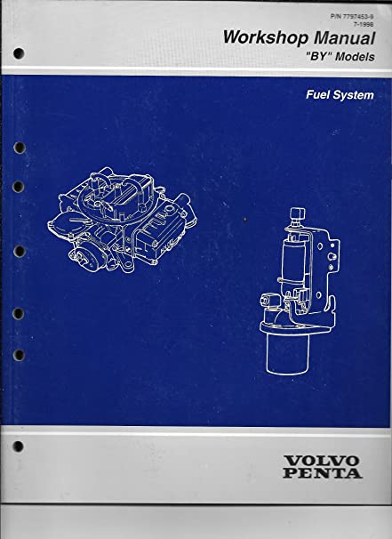 amazon com 1998 volvo penta workshop manual by fuel system rh amazon com Volvo Penta Lower Unit Volvo Penta Trim Switch