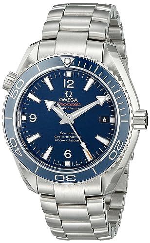Omega 23290422103001 - Reloj de Pulsera Hombre, Titanio, Color Plata: Amazon.es: Relojes