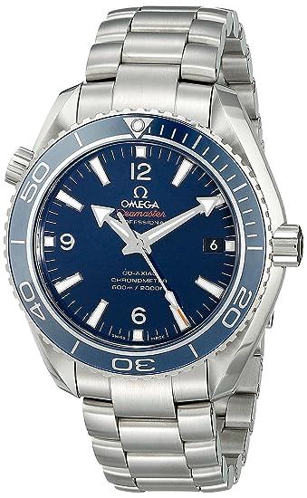 Omega 23290422103001 - Reloj de pulsera hombre, Titanio, color Plata