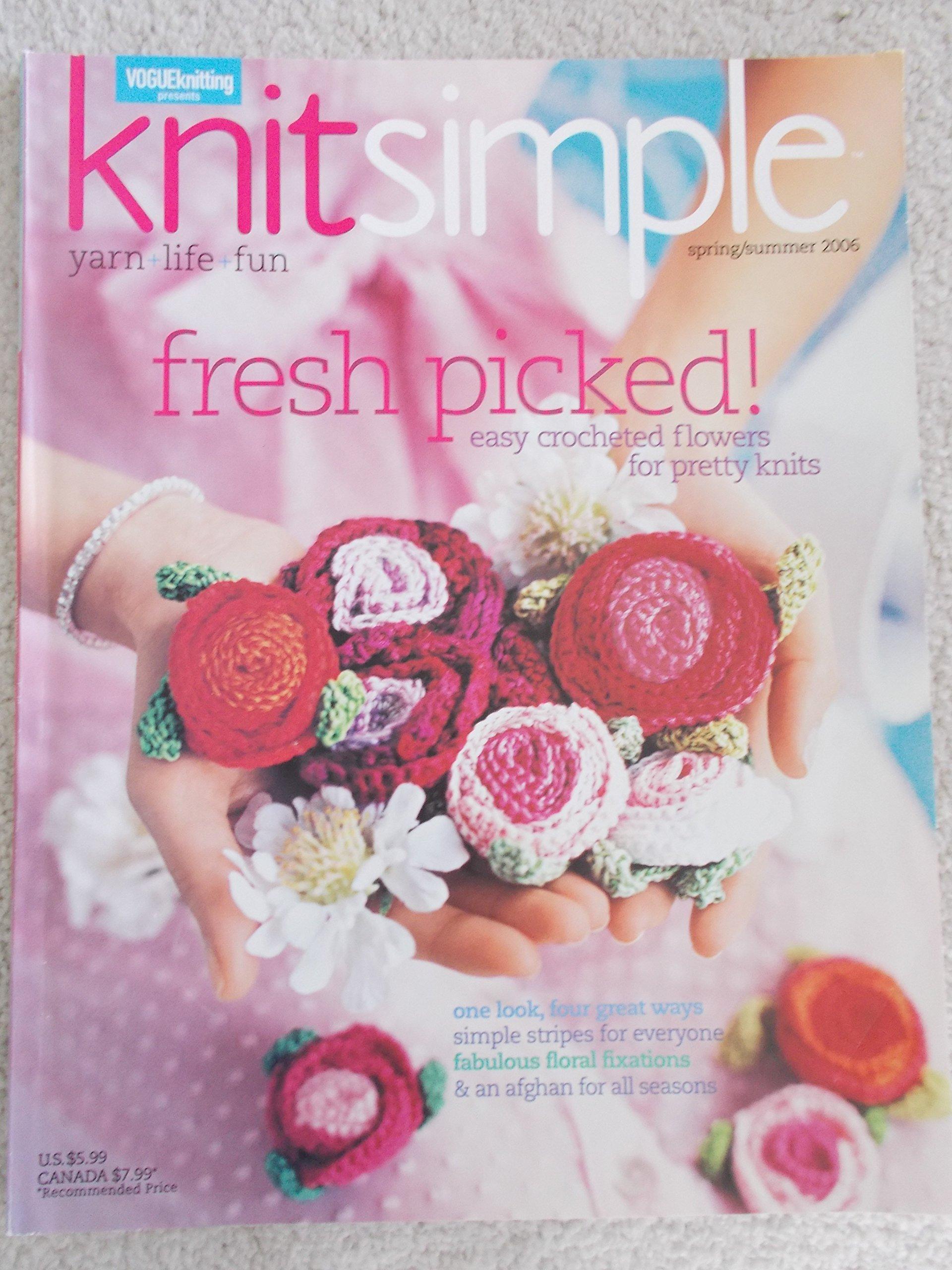 Knit Simple Magazine Spring/Summer 2006 pdf epub