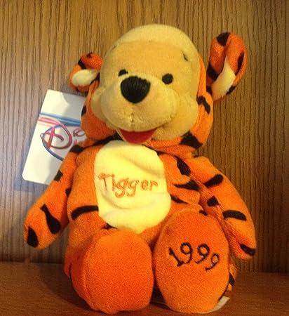 Amazon.com  Disney Beanie Mini Bean Bag Pooh as Tigger 8