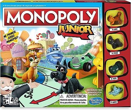 Monopoly- Junior, versión Española (Hasbro A6984546): Amazon ...
