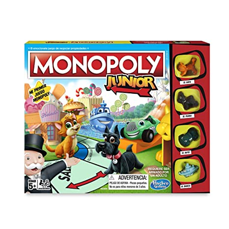 Monopoly Junior Version Espanola Hasbro A6984546