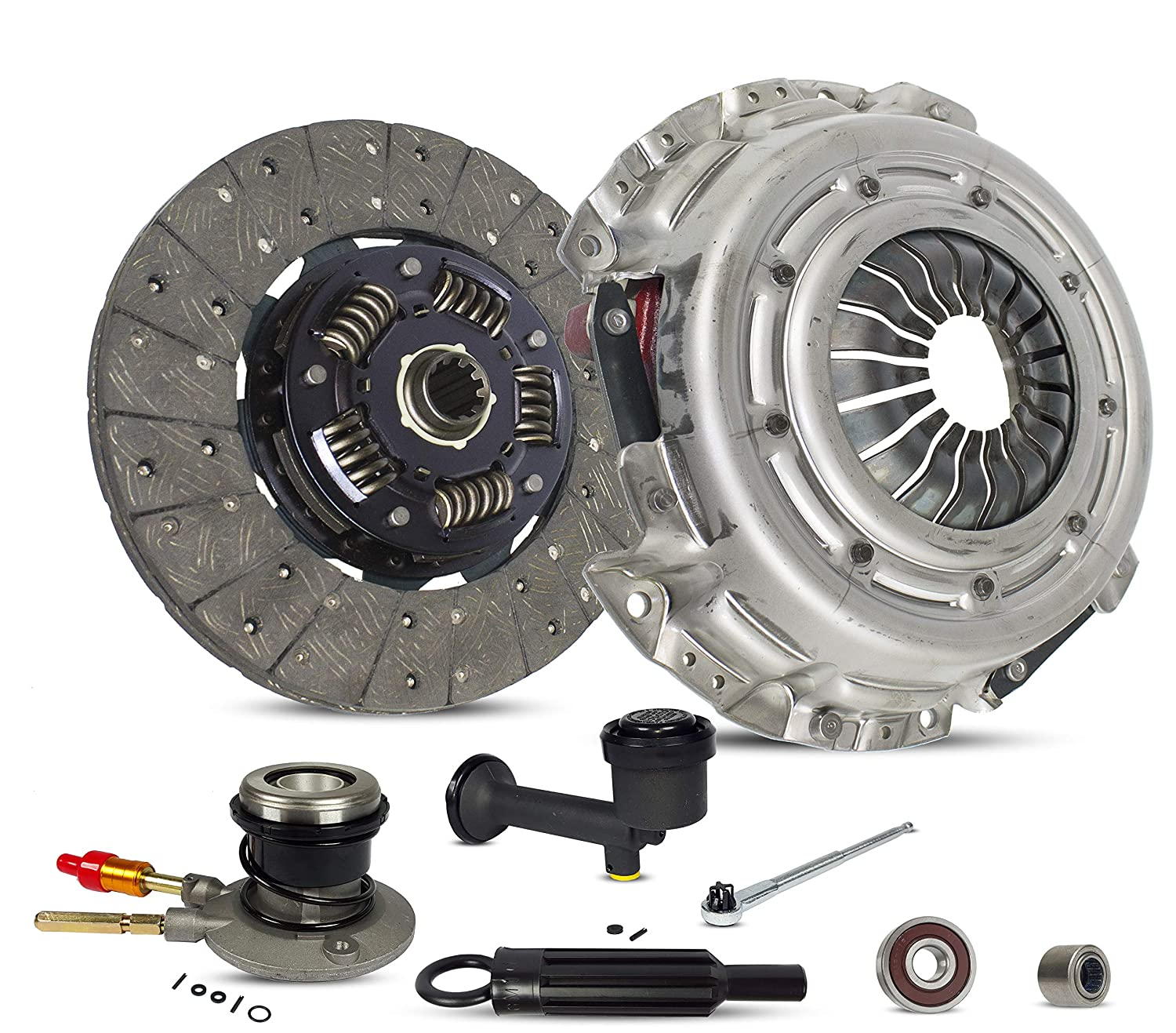 Amazon com: Clutch Kit Master And Slave Cylinder Works With