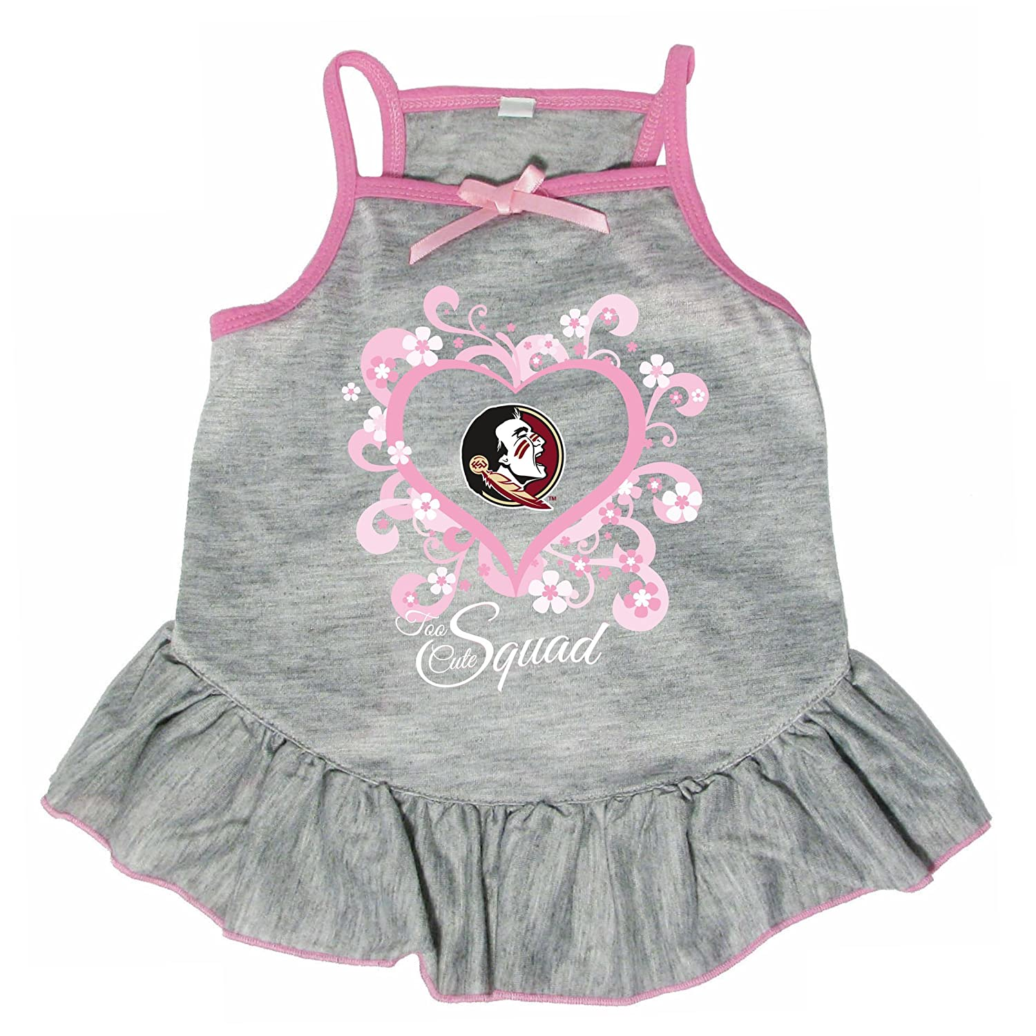Hunter 4238-41-3900 NCAA Florida State University Too Cute Pet Dress, Large