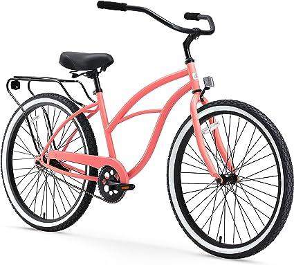 NANTUCKET LIGHTSHIP forme classique coloré avant vélo panier