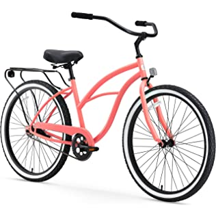 sixthreezero Around the Block Womens Cruiser Bike (24-Inch & 26-Inch)