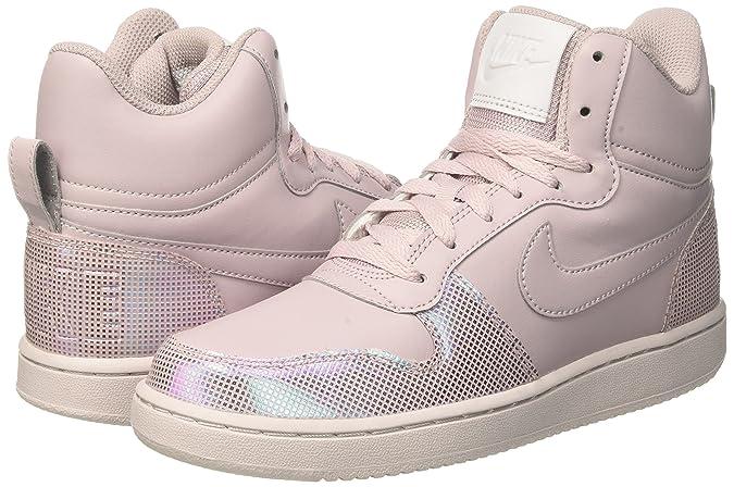 Nike Wmns Court Borough Mid Se, Zapatillas de Gimnasia para Mujer ...