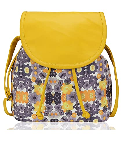 7772828e6 Kleio Beautiful Stylish Sling Bag For Girls   Women (Yellow)  Amazon.in   Shoes   Handbags
