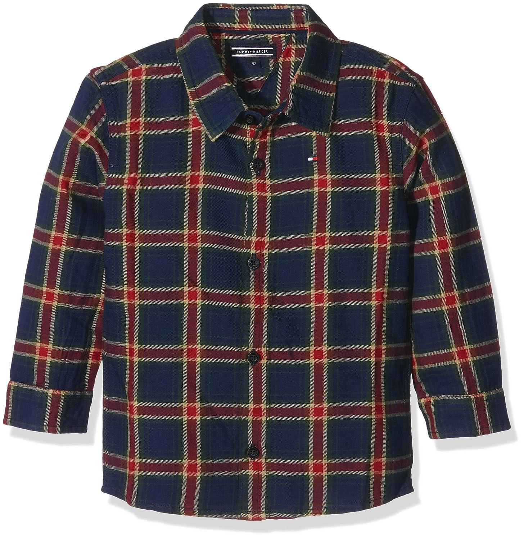 Tommy Hilfiger Jungen Hemd Heritage Check Shirt L/s