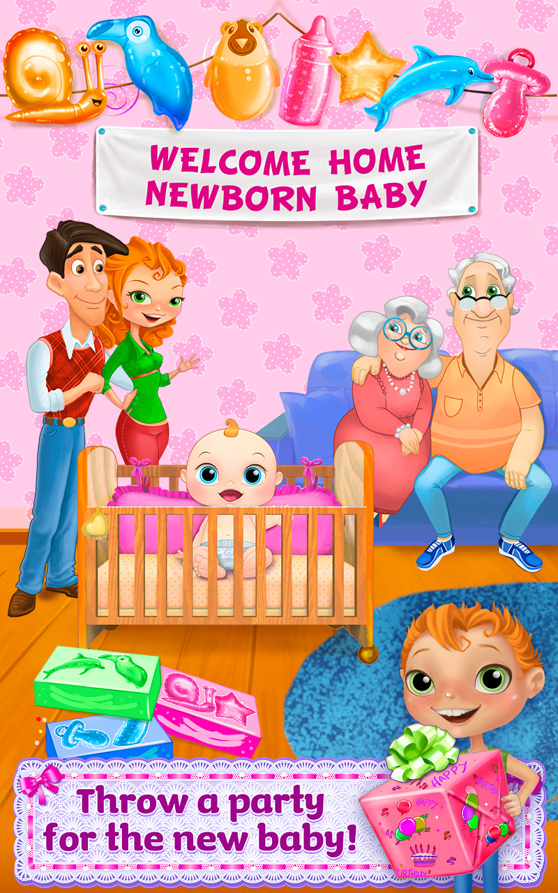 Amazon.com: My Newborn Sister - Mommy & Baby Care