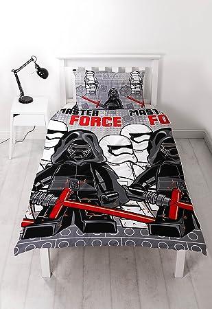 LEGO Star Wars U0027Siebenu0027 Single Bettbezug Set U2013 Repeat Print Design