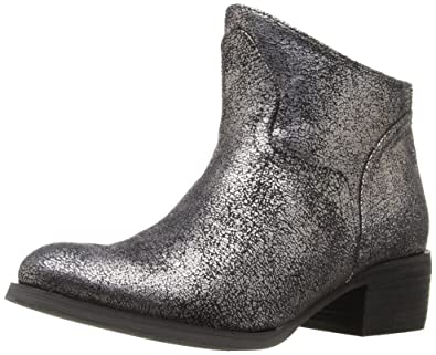 Not Rated Women's Sagitta Ankle Bootie, Silver, ...