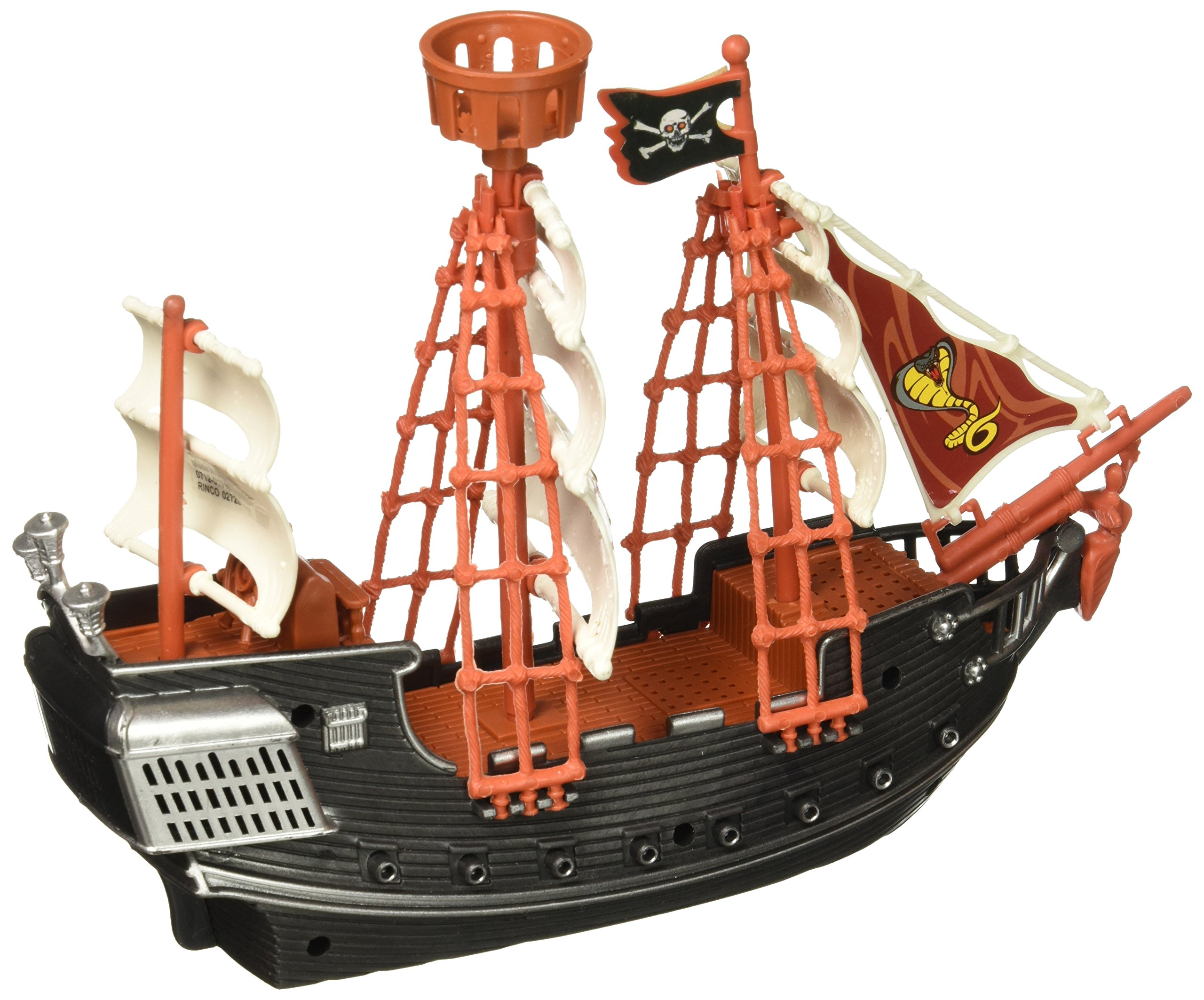 Oasis Supply Extra Large Pirate Ship Cake Topper - 10'' Long by Oasis Supply (Image #1)