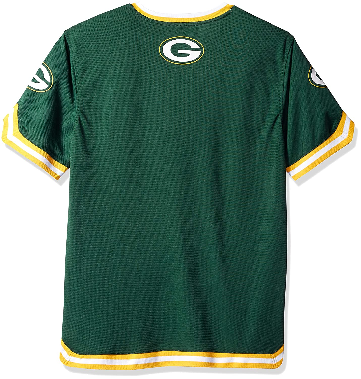 NFL Green Bay Packers Ultra Game Mens MESH SS CREW TEE Green Large