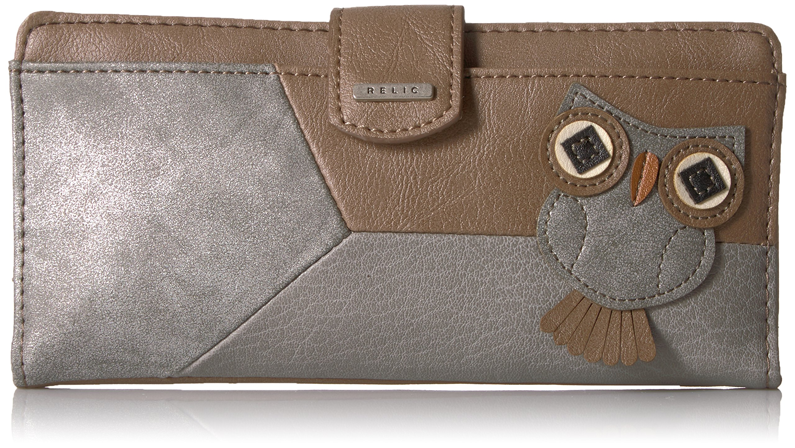 Relic by Fossil Women's RLS5744101 Checkbook Cover, natural One Size