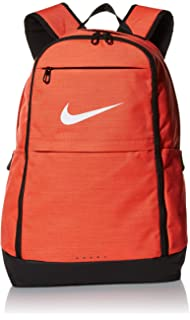 NIKE Brasilia Backpack, Rush Coral Black White, X-Large b936b097cc