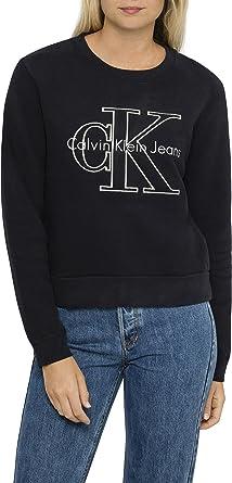 df6424e682ef2 Calvin Klein Women s Harper LS Crew Neck  Amazon.com.au  Fashion
